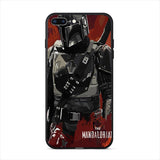 The Mandalorian soft phone case for Iphone