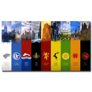 Game of Thrones Silk Posters