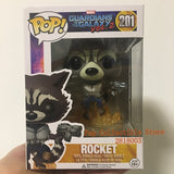 Official FUNKO POP Marvel: Guardians of the Galaxy 2 - Flying Rocket Vinyl Collectible