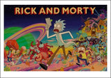 Rick and Morty Posters. Home Decoration.