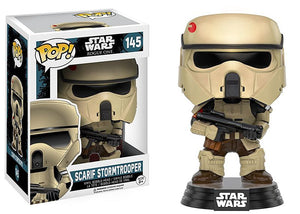 FUNKO POP Official Star Wars: Rogue One - Scarif Stormtrooper Collectible