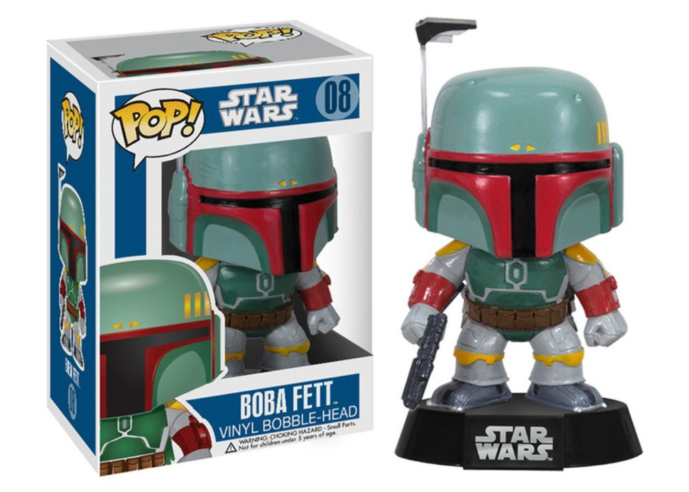 Official Funko POP Star Wars - Boba Fett Collectible