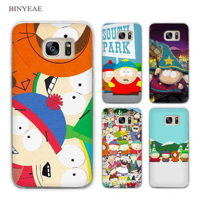 South Park Phone Case for Samsung Galaxy S3 S4 S5 Mini S6 S7 S8 Edge Plus