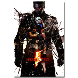 Resident Evil 6 Silk Poster Prints 13x20 24x36 inches