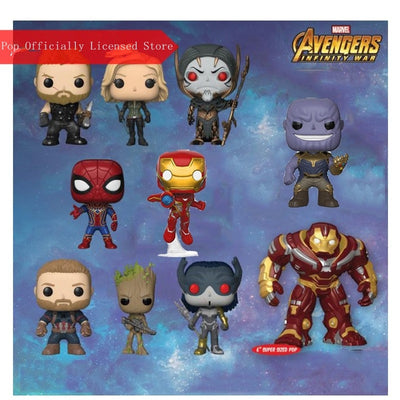 Funko pop Official Marvel: Avengers Infinity war Figurines