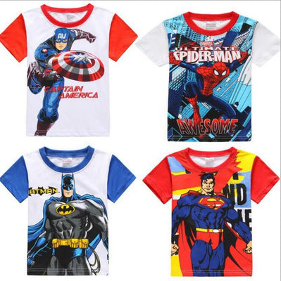 Marvel & DC Kids T-Shirts