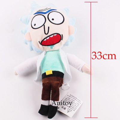 Rick And Morty Plush Toy  2 Styles 33cm