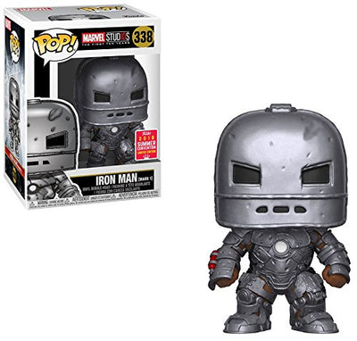 2018 SDCC Exclusive Funko pop Official Marvel Studios Iron Man Mark 1 Vinyl Collectible