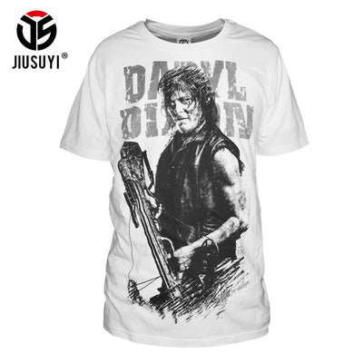 Daryl Dixon The Walking Dead Cotton T-Shirts