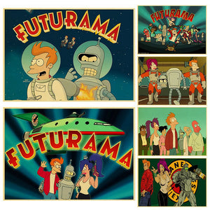 FUTURAMA cartoon posters