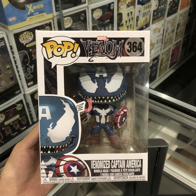 Funko pop Official Marvel: Venomised Captain America Vinyl Collectible