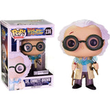 Exclusive Funko POP Official Movies: Back to The Future - Dr. Emmett Brown Vinyl Collectible