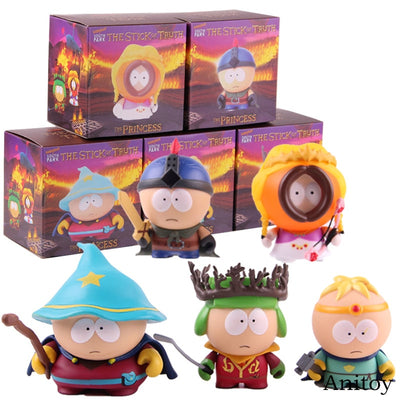 South Park The Stick of Truth PVC Figurines 5pcs/set