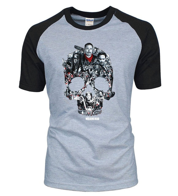 The Walking Dead Skull T-Shirt