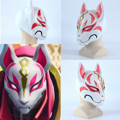 Fortnite drift Fox PVC mask
