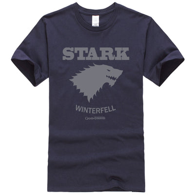 Stark of Winterfell Game of Thrones short sleeve T-Shirt