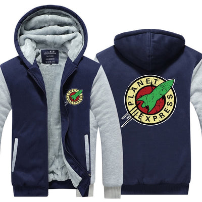 Futurama Planet Express Hoodie with Pockets