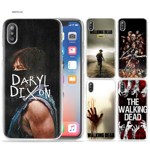 The Walking Dead TWD Case for iPhone X XS MAX XR 7 8 Plus 6 6S Plus 5 5S SE 5C 4 4S 7+ 8+ 7Plus 8Plus Cover Phone Cases