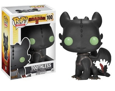 POP Toothless How to train your dragon Collectible