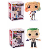 POP Suicide Squad Harley Quinn & The Joker 10cm Vinyl Collectibles