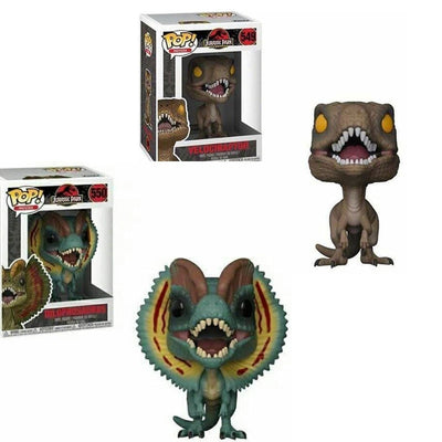 POP Jurassic world & Dinosaur Velociraptor Collectibles