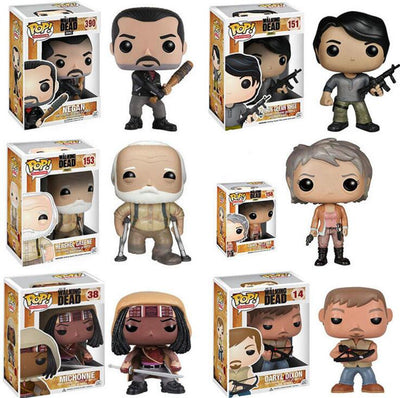 POP WALKING DEAD Collection figurines