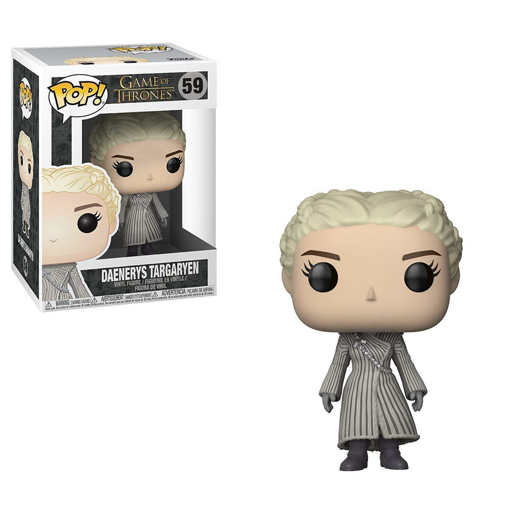 Official Funko pop Game of Thrones - Daenerys (White Coat) Vinyl Collectible