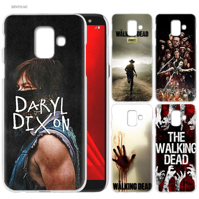 The Walking Dead TWD Cell Phone Case for Samsung Galaxy S9 S8 S7 Edge Plus A6 A7 A8 A9 J4 J6 Plus 2018 Note 8 9 Cover