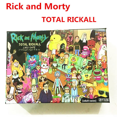 TOTAL RICKALL, Rick and Morty, Card Game