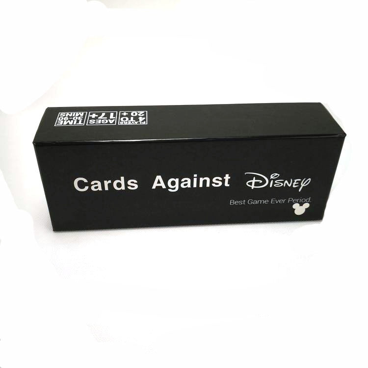 Cards Against Disney, game
