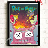 Rick and Morty Vintage High quality Posters