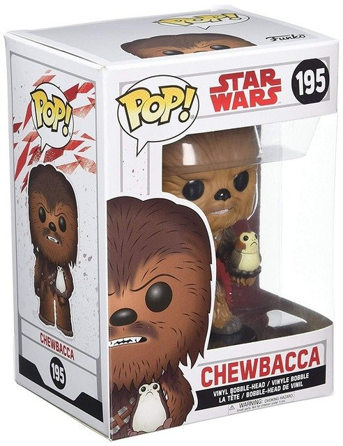 FUNKO POP STAR WARS CHEWBACCA 195# PVC Collectible