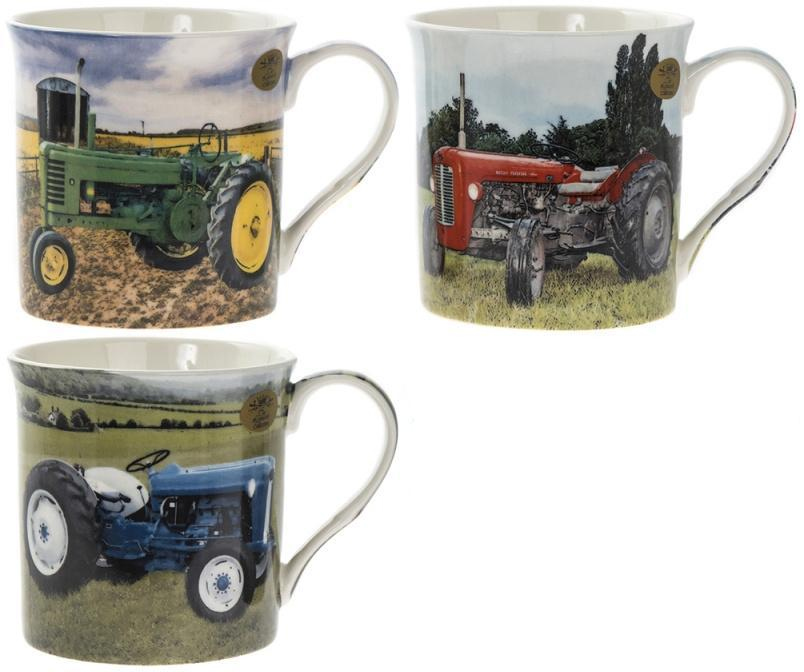 Vintage Tractor Mugs
