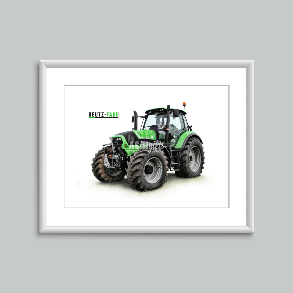 8x6 Mounted Print - Deutz-Fahr