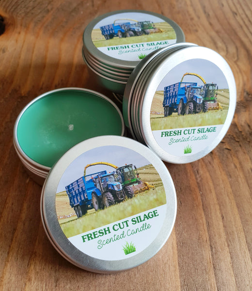 Mini Fresh Cut Silage Tin Candle