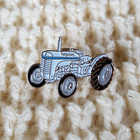 Enamel 'Vintage Ferguson' Badge Pin