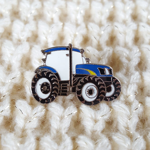 Enamel 'New Holland' Badge Pin