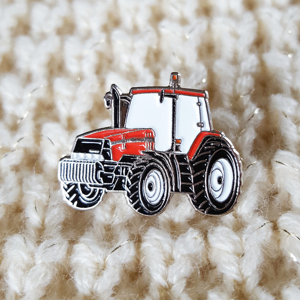 Enamel 'Case IH' Badge Pin