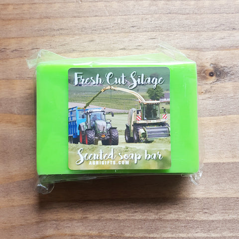 Bar of 'Fresh Cut Silage' Scented Soap
