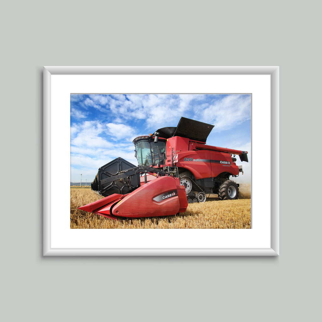 8x6 Mounted Print - Case Combine