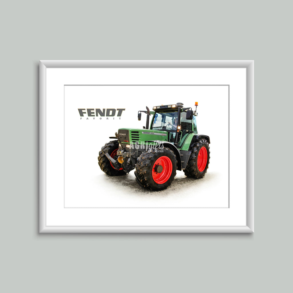 8x6 Mounted Print - 'Fendt Favorit' Fendt Favorit 515