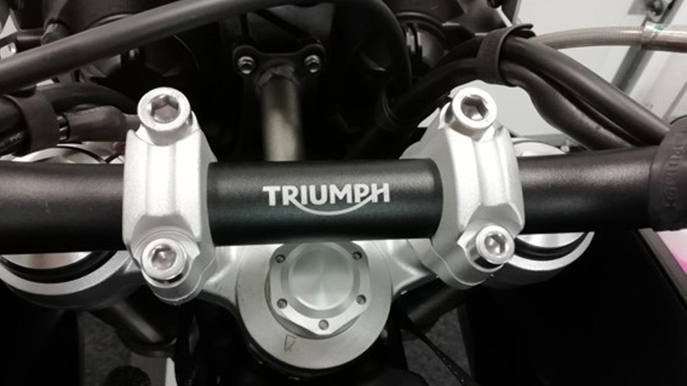 Mounting To a 2016 Triumph Tiger 800