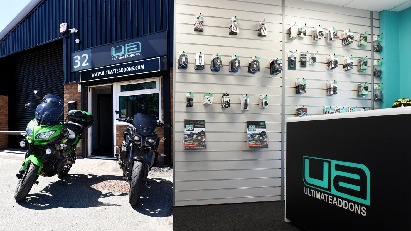 Ultimateaddons open all hours for bikers with new retail store