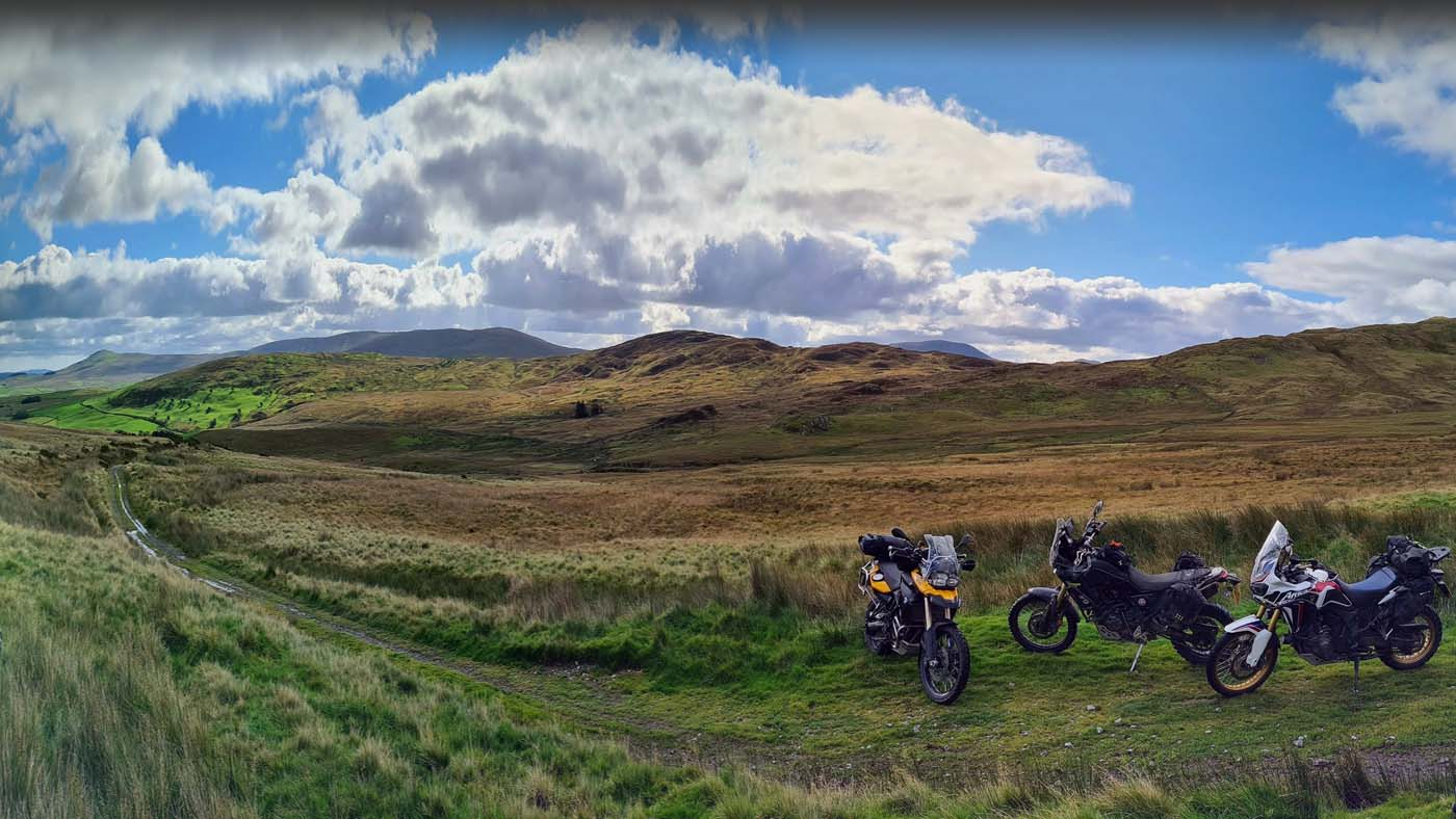 The Trans Euro Trail - Adventure Motorcycle Riding in the UK