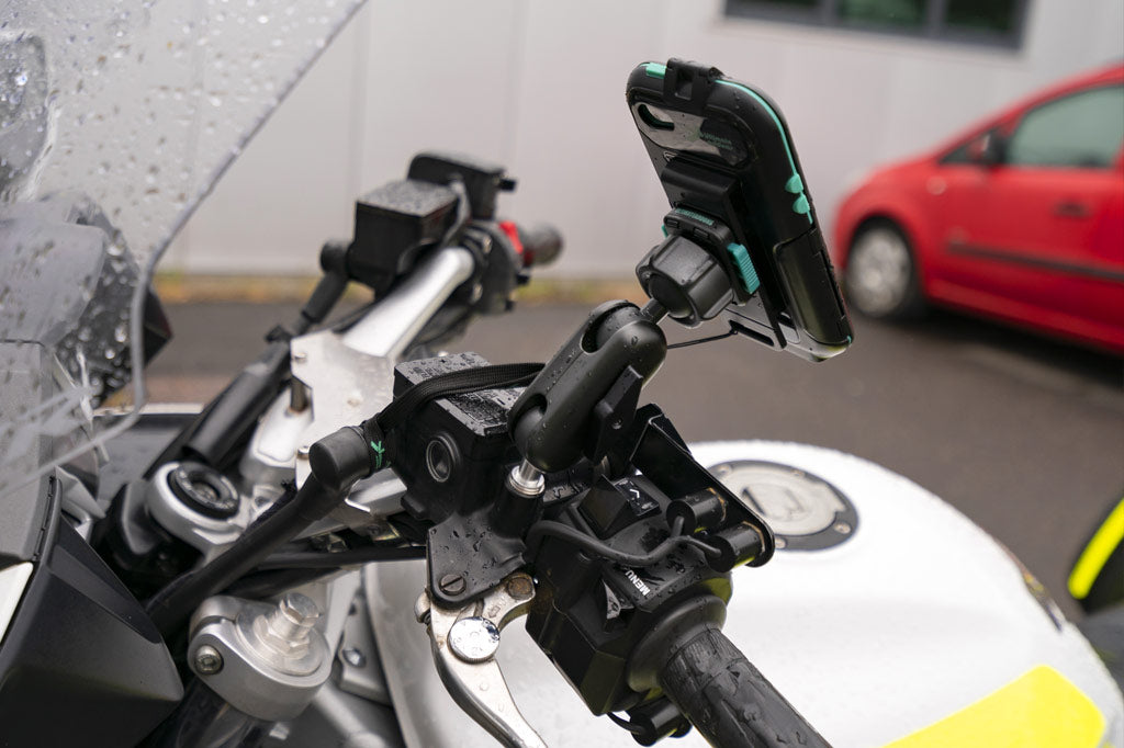 Blood Bikes Scotland Yamaha FJR 1300 Phone Mount