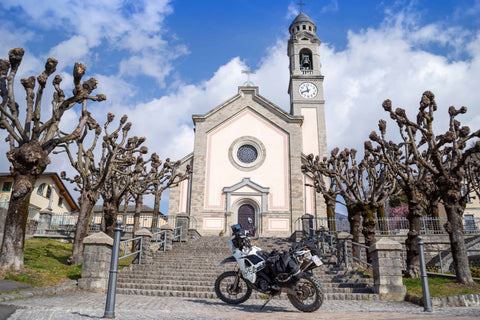 Italy TET BMW GS adventure motorcycle