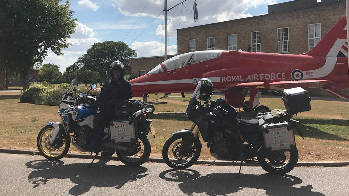 RAF 100 Stations Visit - Supported by Ultimateaddons