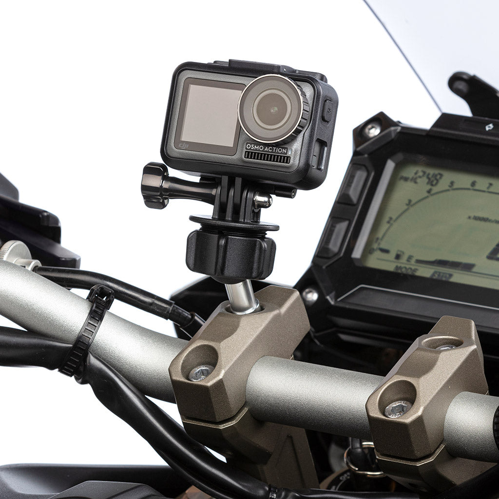 DJI Osmo Action Camera Motorcycle Handlebar Clamp Mount - Ultimateaddons