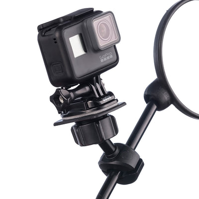 Motorcycle Scooter Metal Mirror Mount Kit for GoPro Hero Cameras - Ultimateaddons