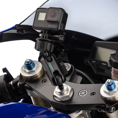 Motorcycle Fork Stem Sports BIke Mount Kit for GoPro Hero Cameras - Ultimateaddons